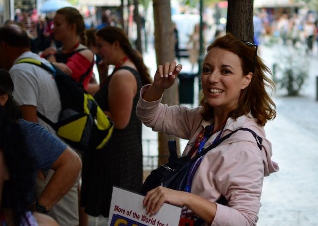 Our Tour Guide Elena