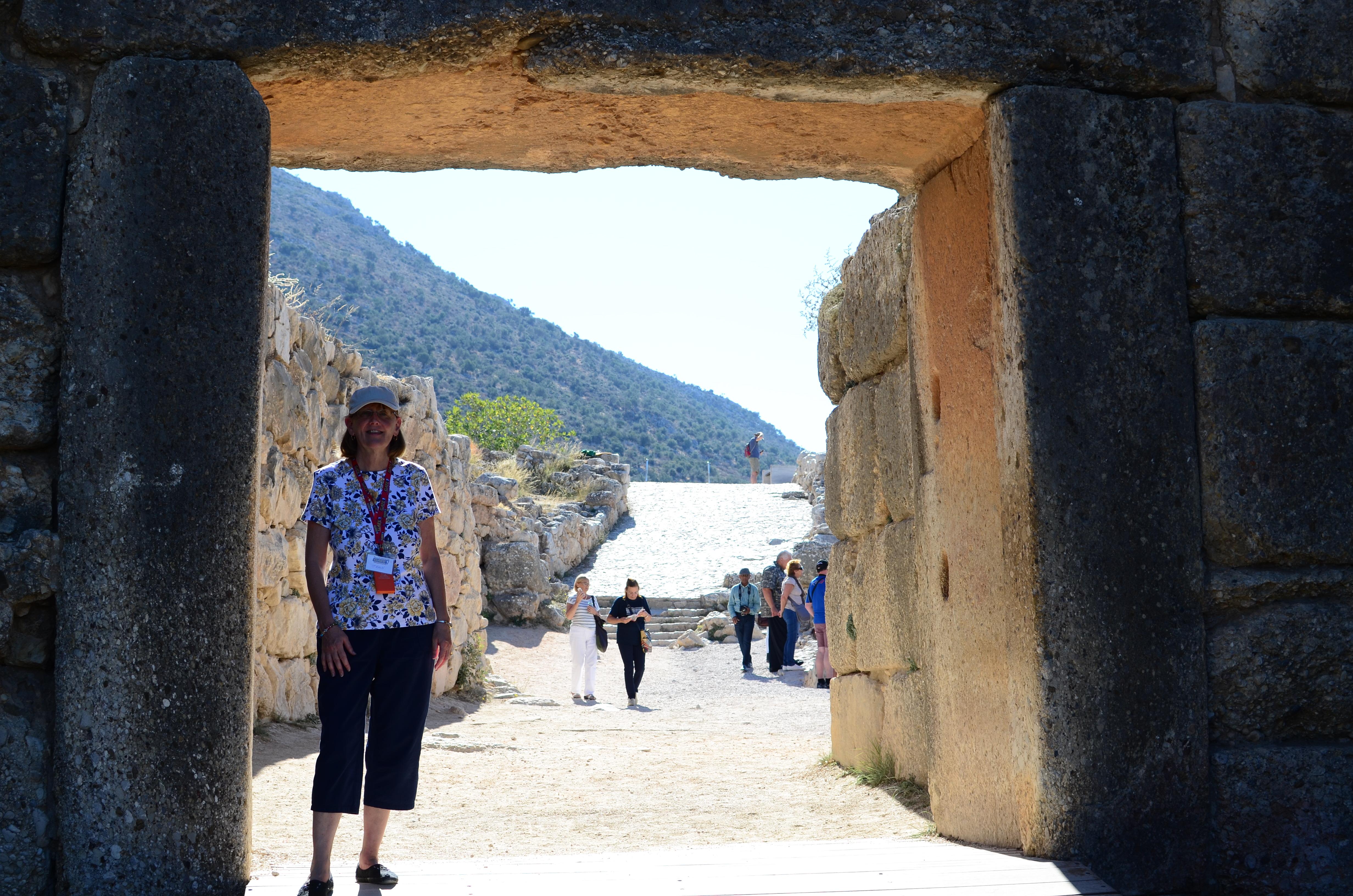 Jean at Mycenae