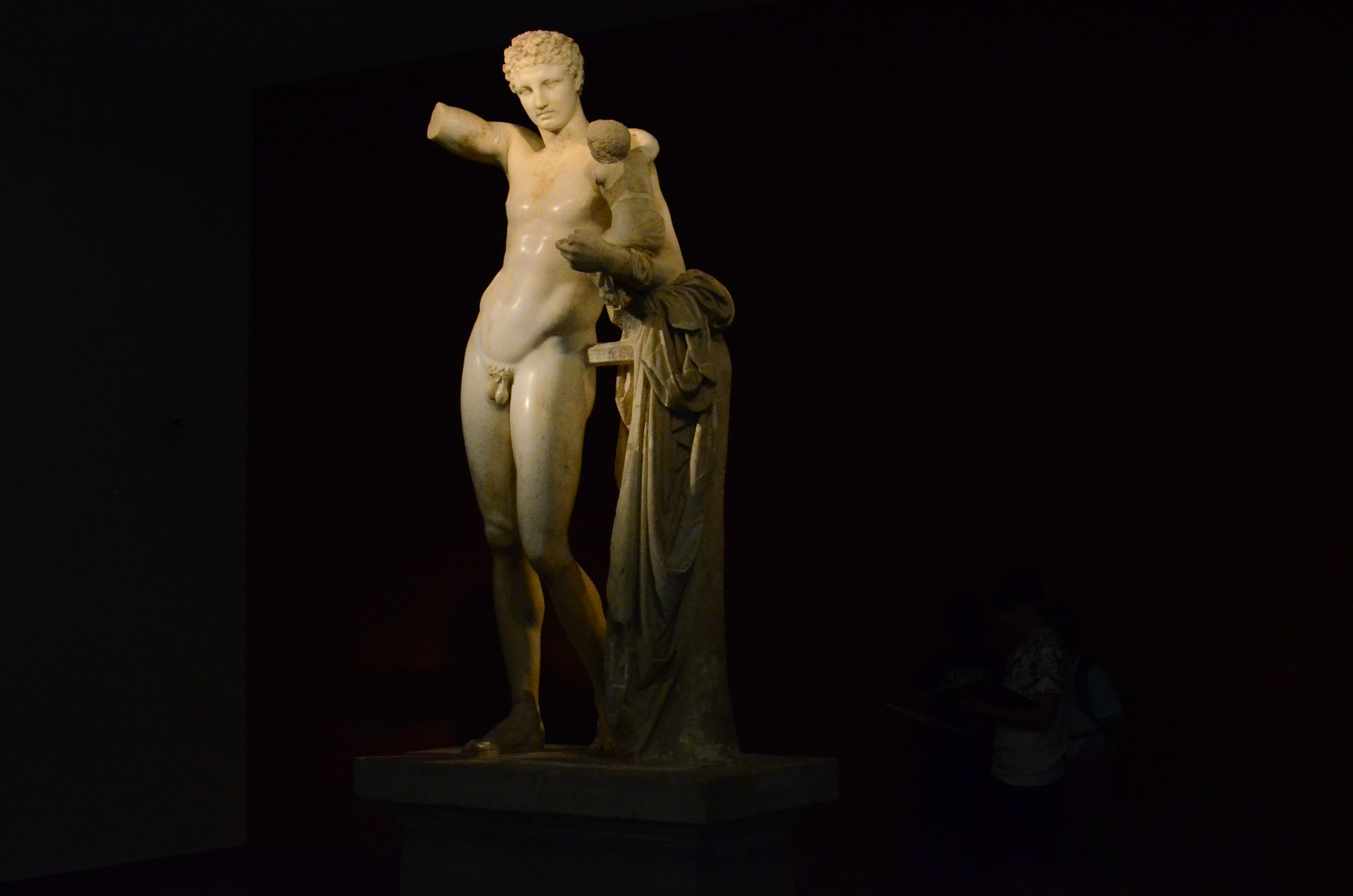Statue of Hermes at Olympia