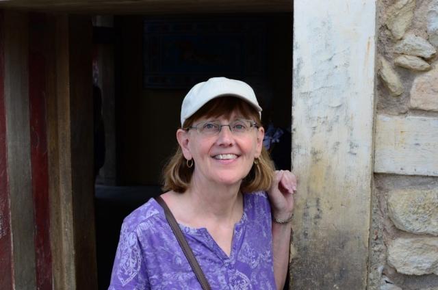 Jean at Knossos