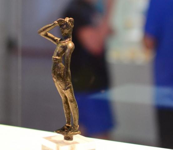 Minoan Saluting Figure