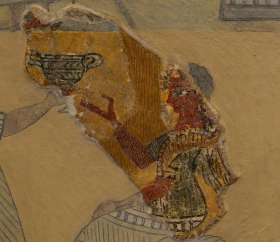 Minoan Fresco of Human - Knossos