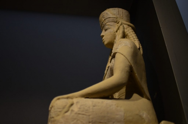 Archaic Greek-style Statue
