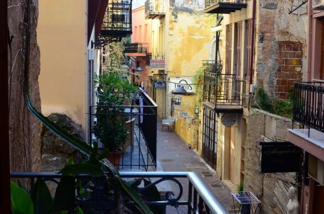 View from Hania Balcony