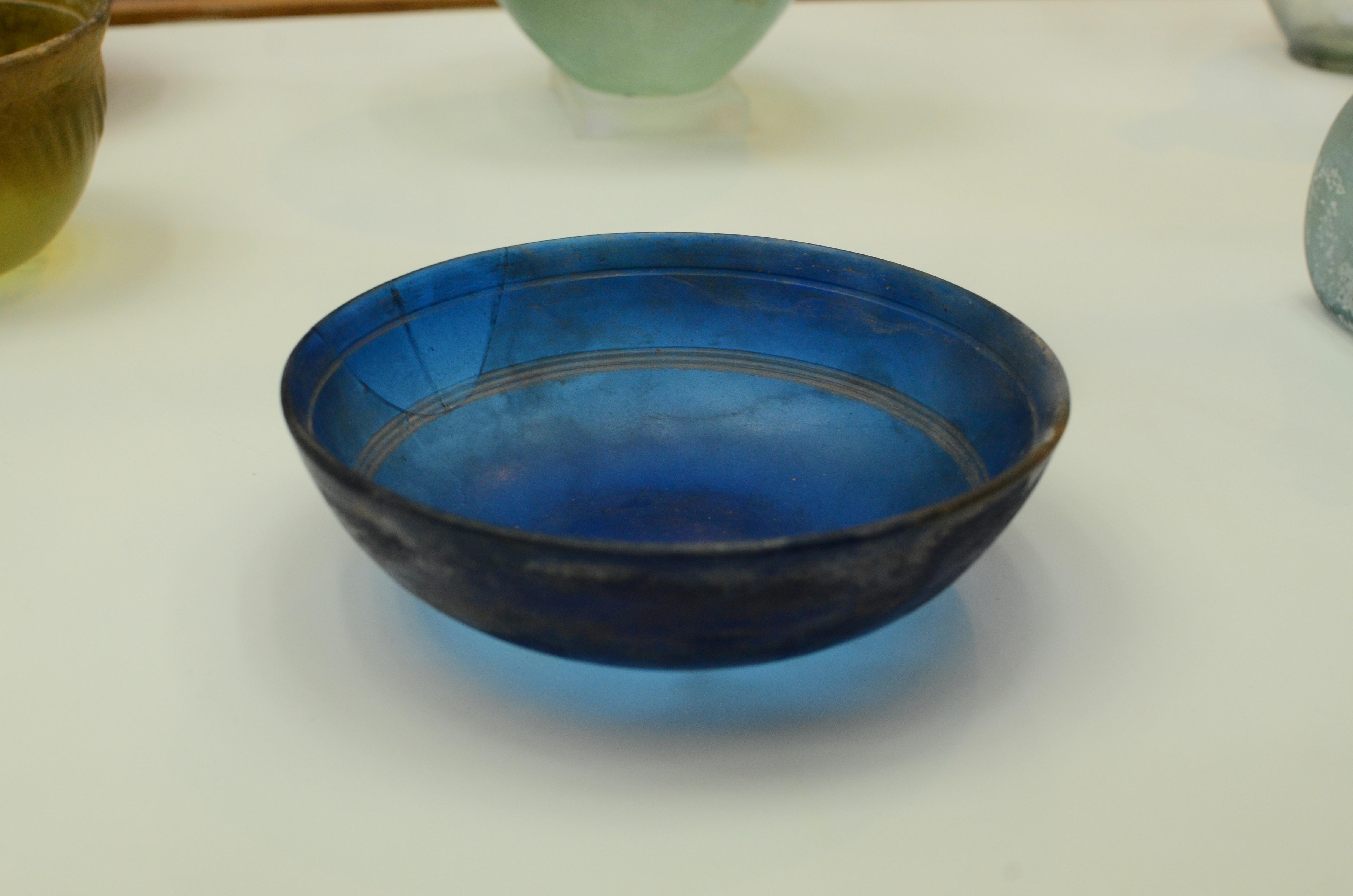 Blue Minoan Dish